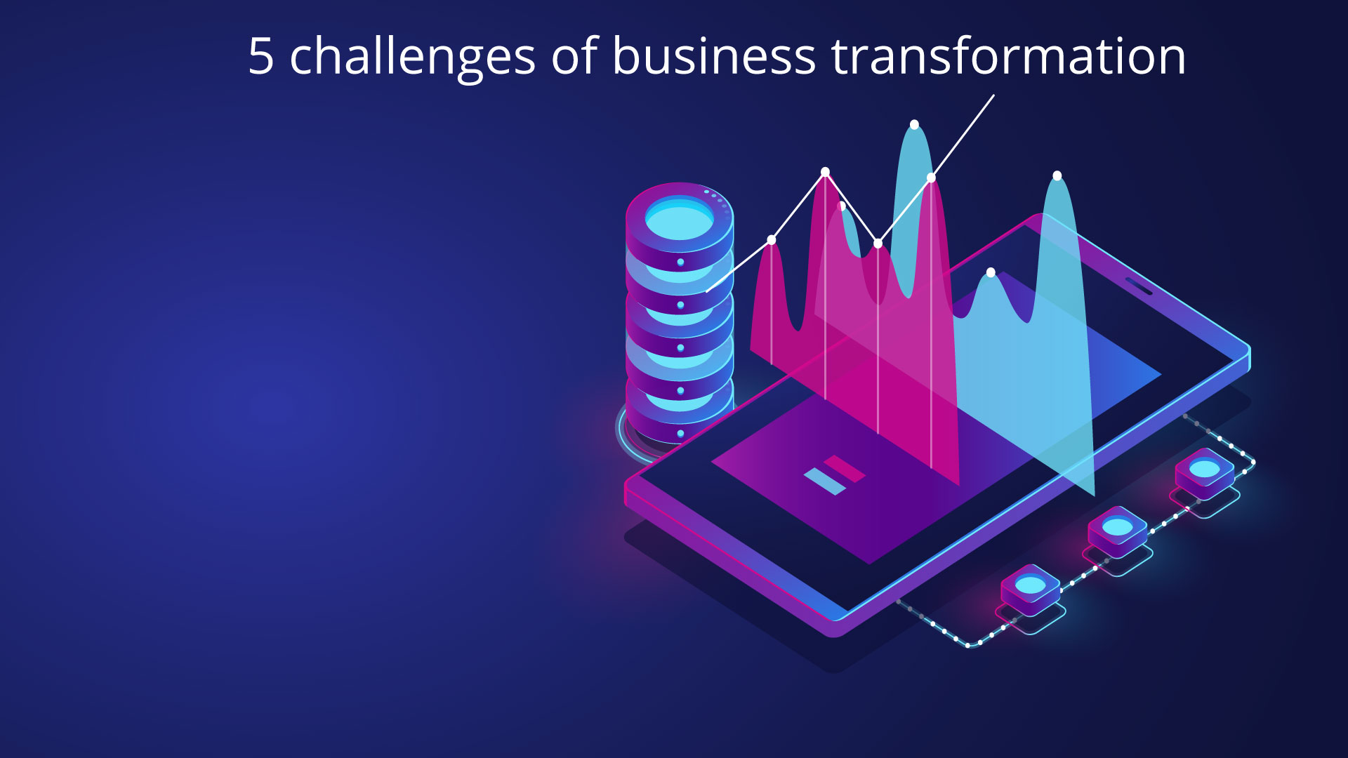 5challenges of business transformation